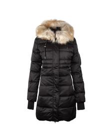Calvin Klein Womens Black Opra Down Jacket