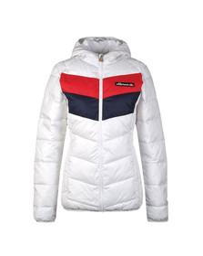 Ellesse Womens White Ginette Jacket