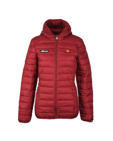 Ellesse Womens Red Lompard Padded Jacket
