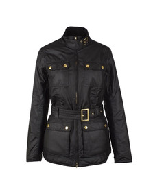 Barbour International Womens Black Heyford Wax Jacket