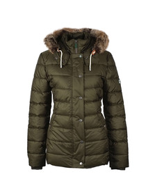 Barbour Lifestyle Womens Beige Shipper Quilt