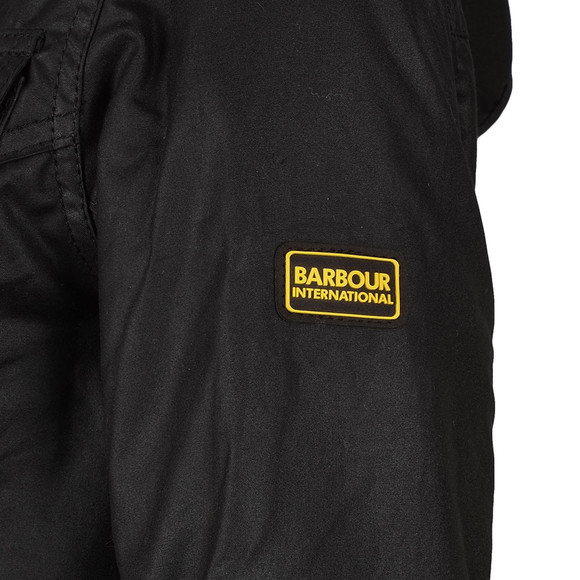 Barbour International Womens Black Mallory Wax Jacket main image