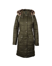 Barbour Lifestyle Womens Beige Winterton Quilt