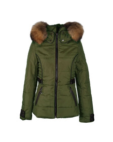 Jayloucy Womens Green JC8007 Jacket