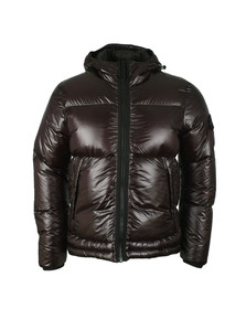 Stone Island Mens Black Pertex Quantum Down Jacket
