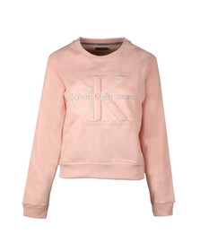 Calvin Klein Womens Pink Harper Sweatshirt