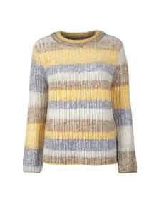 Barbour Lifestyle Womens Gold Hive Knit