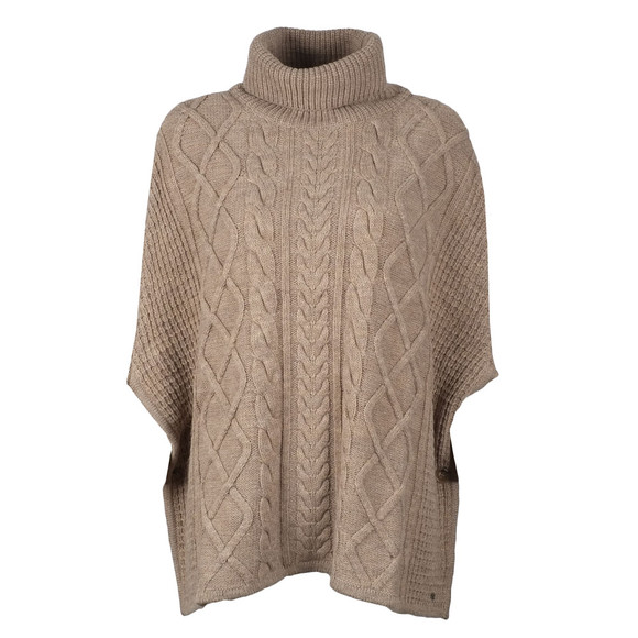 Barbour Lifestyle Womens Beige Court Cape main image