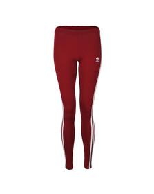 Adidas Originals Womens Red 3 Stripes Legging