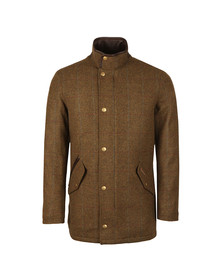 Barbour Lifestyle Mens Green Wimbrel Wool Jacket