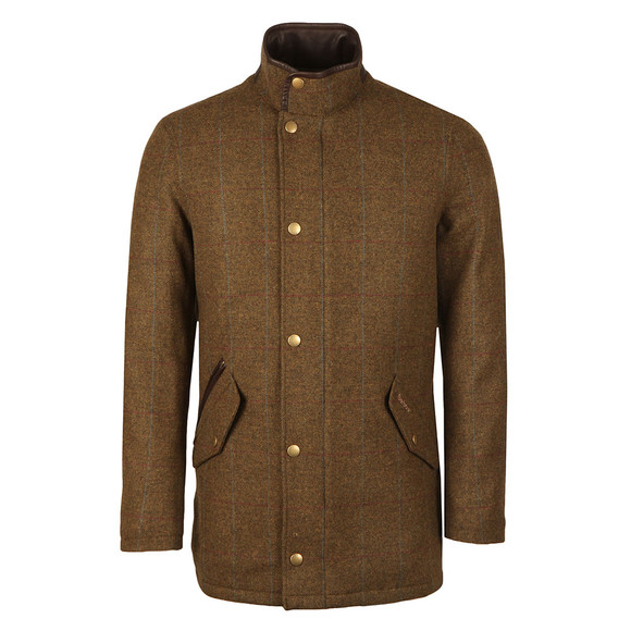 Barbour Lifestyle Mens Green Wimbrel Wool Jacket main image