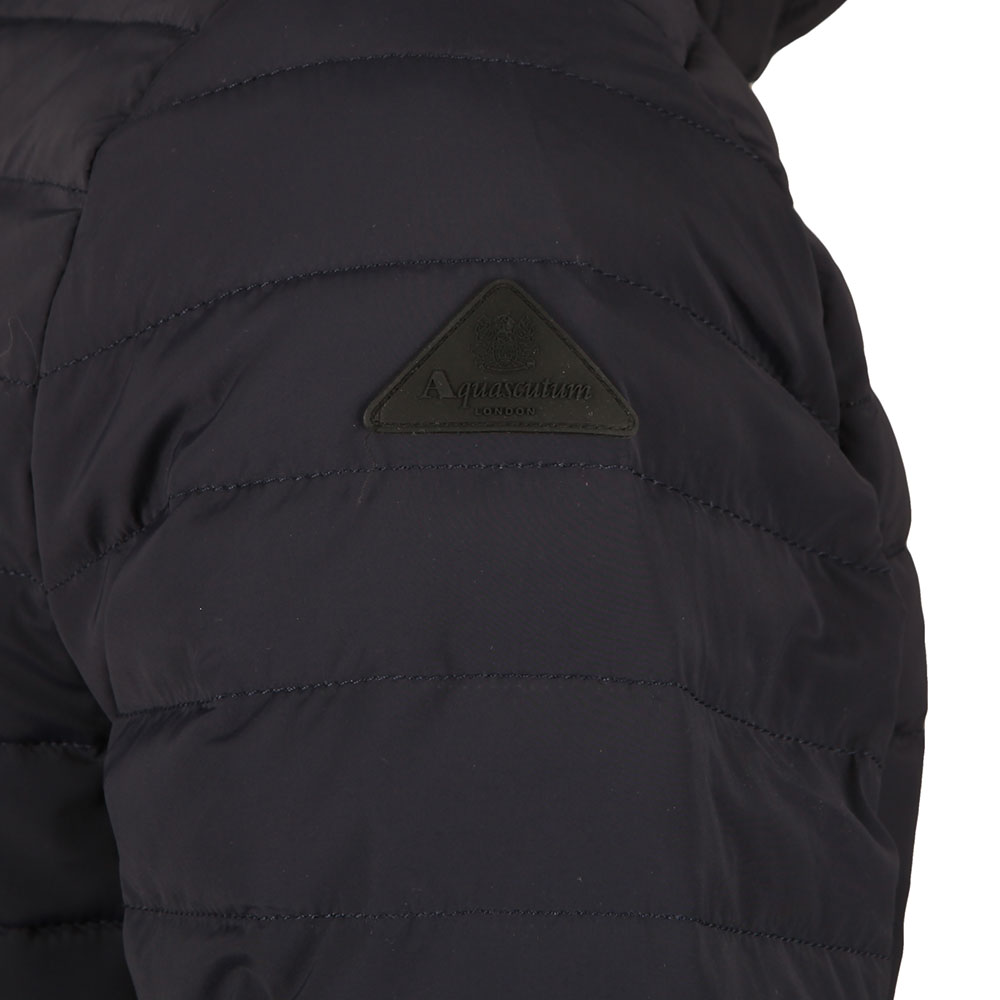 Emmett Diamond Quilted Hooded Jacket main image