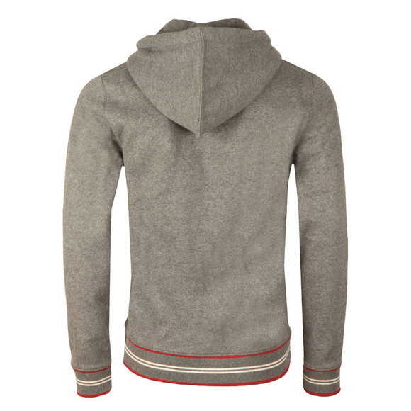 Pretty Green Mens Grey Zip Through Hoody main image