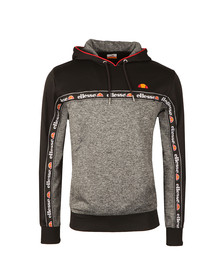 Ellesse Mens Grey Ottey OH Hooded Top