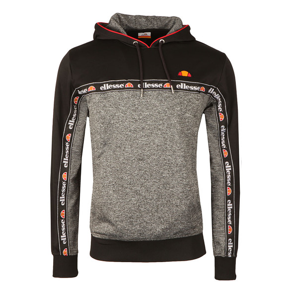 Ellesse Mens Grey Ottey OH Hooded Top main image