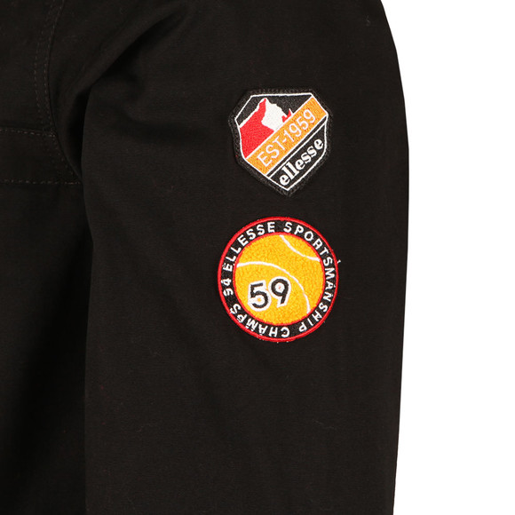 Ellesse Mens Grey Monte Badge Oh Jacket main image