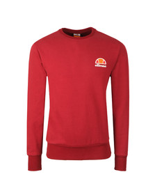 Ellesse Mens Red Diveria Crew Sweat