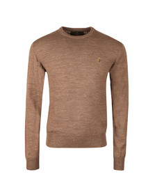Luke Mens Brown Gerard 3 OTM Crew Neck