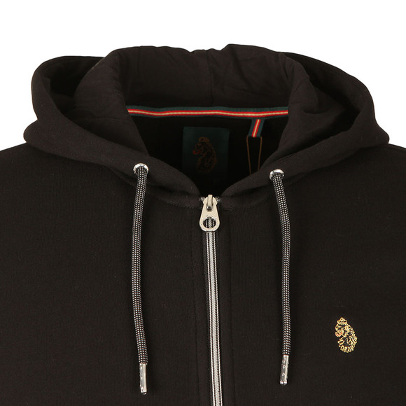 Luke Sport Mens Black Three A OTM Zip Hoody main image