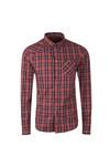 Luke Mens Blue Heyday Patch Pocket Detail Shirt