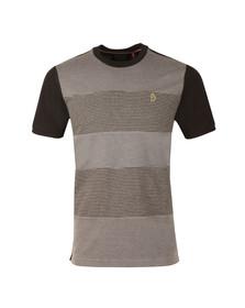 Luke Sport Mens Black Sober Baz T-Shirt