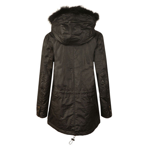 Belstaff Womens Black Clyde Parka With Fur main image