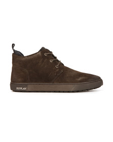 Replay Mens Grey Malby Boot