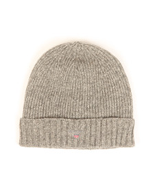 Gant Mens Grey Cotton/Wool Lined Beanie