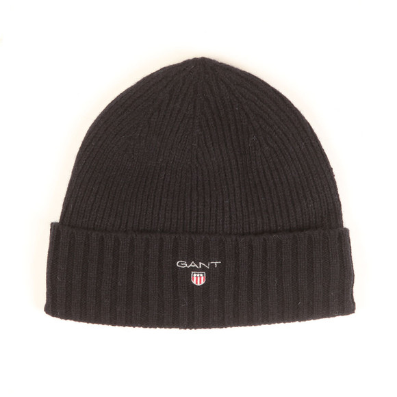 Gant Mens Blue Cotton/Wool Lined Beanie main image