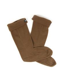 Barbour Lifestyle Mens Green Fleece Sock