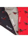 Barbour Lifestyle Mens Multicoloured Pheasant  Motif Sock Box