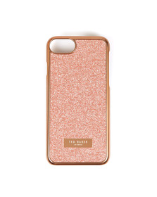 Ted Baker Womens Pink Glitter Iphone Clip Case