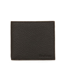 Barbour Lifestyle Mens Black Grain Leather Wallet