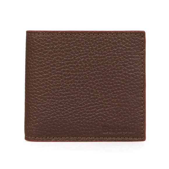Barbour Lifestyle Mens Brown Grain Leather Wallet main image