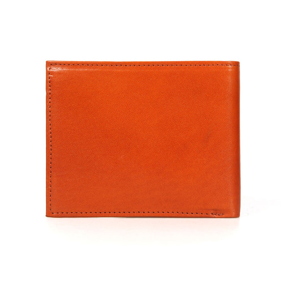 Ted Baker Mens Brown Vivid Coloured Bifold Wallet main image