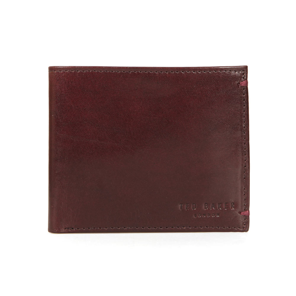 f82c90e92 Ted Baker Mens Red Vivid Coloured Bifold Wallet