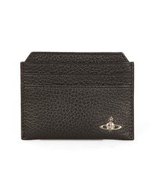 Vivienne Westwood Mens Black Milano New Credit Card Holder