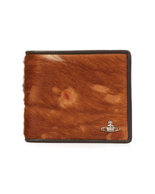 Vivienne Westwood Mens Brown Hunter Card Wallet
