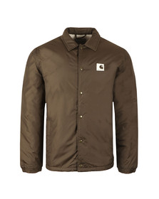 Carhartt Mens Green Sports Pile Coach Jacket