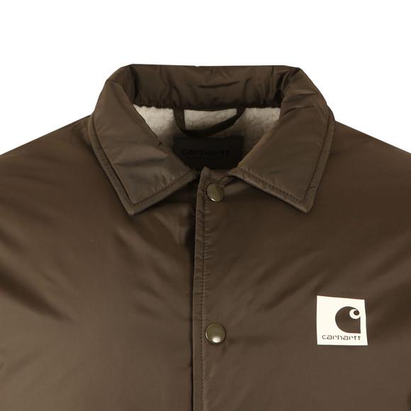 Carhartt Mens Green Sports Pile Coach Jacket main image