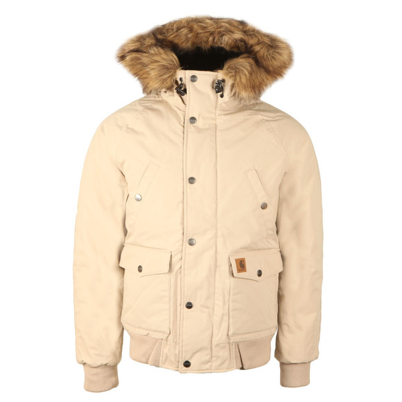 Carhartt Mens Off-White Trapper Bomber main image