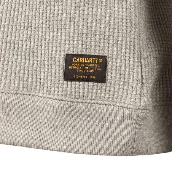 Carhartt Mens Grey Truman Waffle Sweat main image