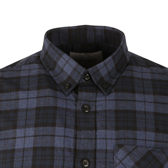 Carhartt Mens Blue Norton Shirt main image