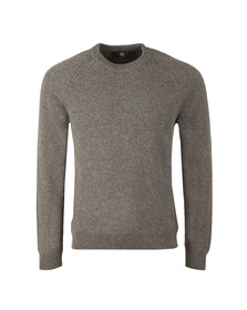 PS Paul Smith Mens Grey Crew Neck Pullover