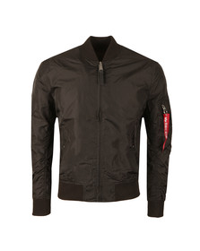 Alpha Industries Mens Black MA1  Bomber Jacket