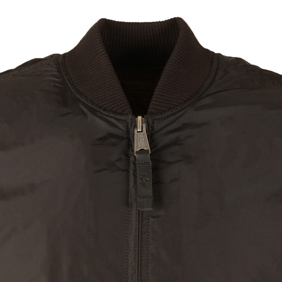 Alpha Industries Mens Black MA1  Bomber Jacket main image
