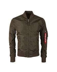 Alpha Industries Mens Grey MA1  Bomber Jacket