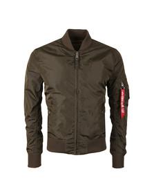 Alpha Industries Mens Grey MA1  Bomber Jacket