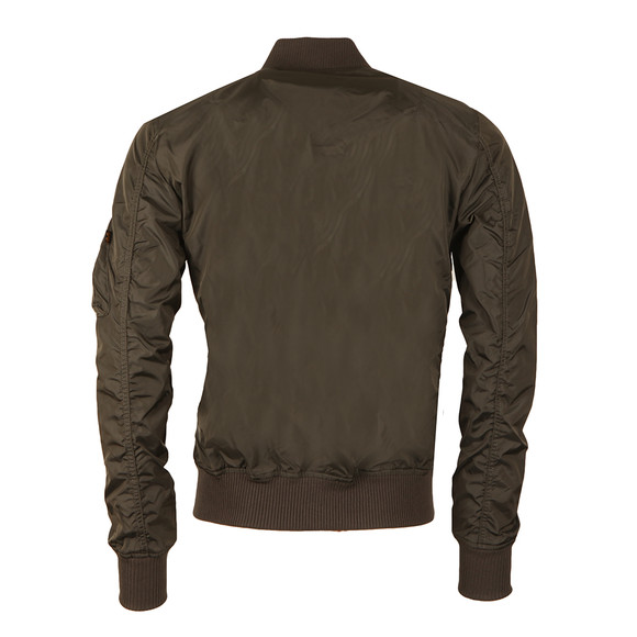 Alpha Industries Mens Grey MA1  Bomber Jacket main image