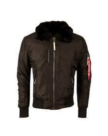 Alpha Industries Mens Black Injector III Jacket